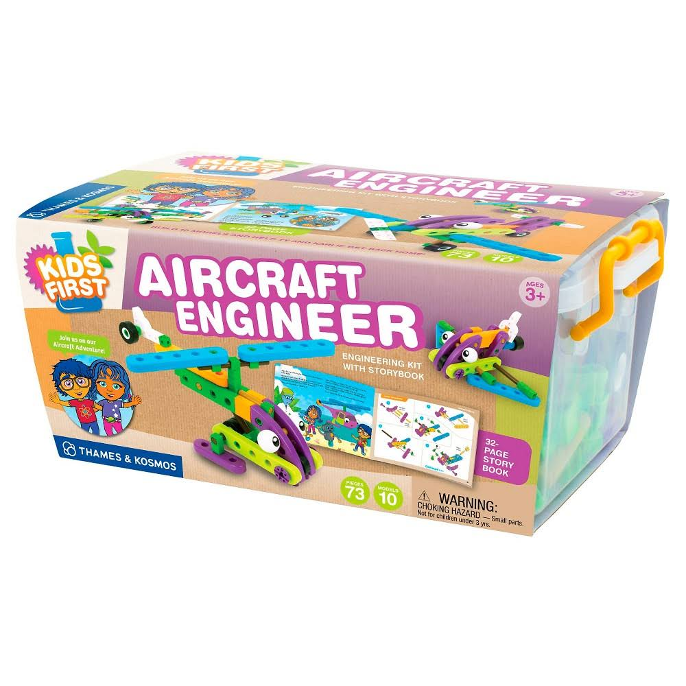 Thames And Kosmos Kid's First Aircraft Engineer Science Experiment Kit
