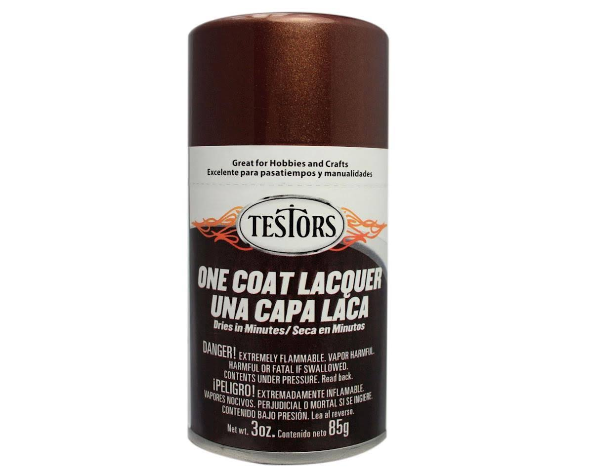 Testors 1848MT Lacquer Spray Gloss Paint - Root Beer, 3oz