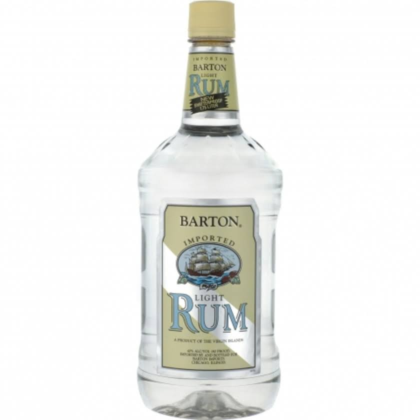 Barton Light Rum - 1.75 L