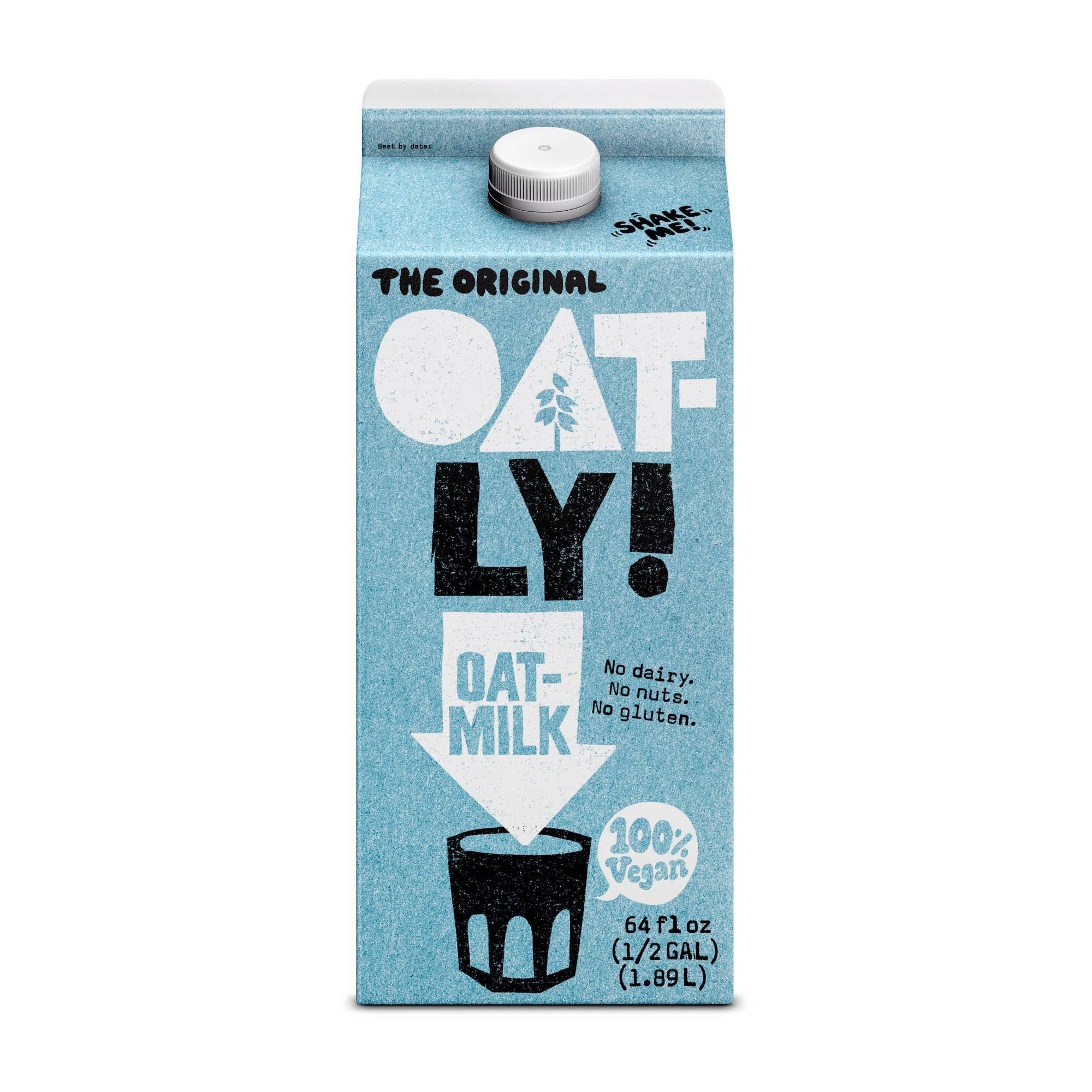 Oatly Oatmilk, The Original - 64 fl oz