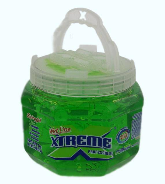 Green Xtreme Extra Hold Hair Styling Gel - 35.27oz