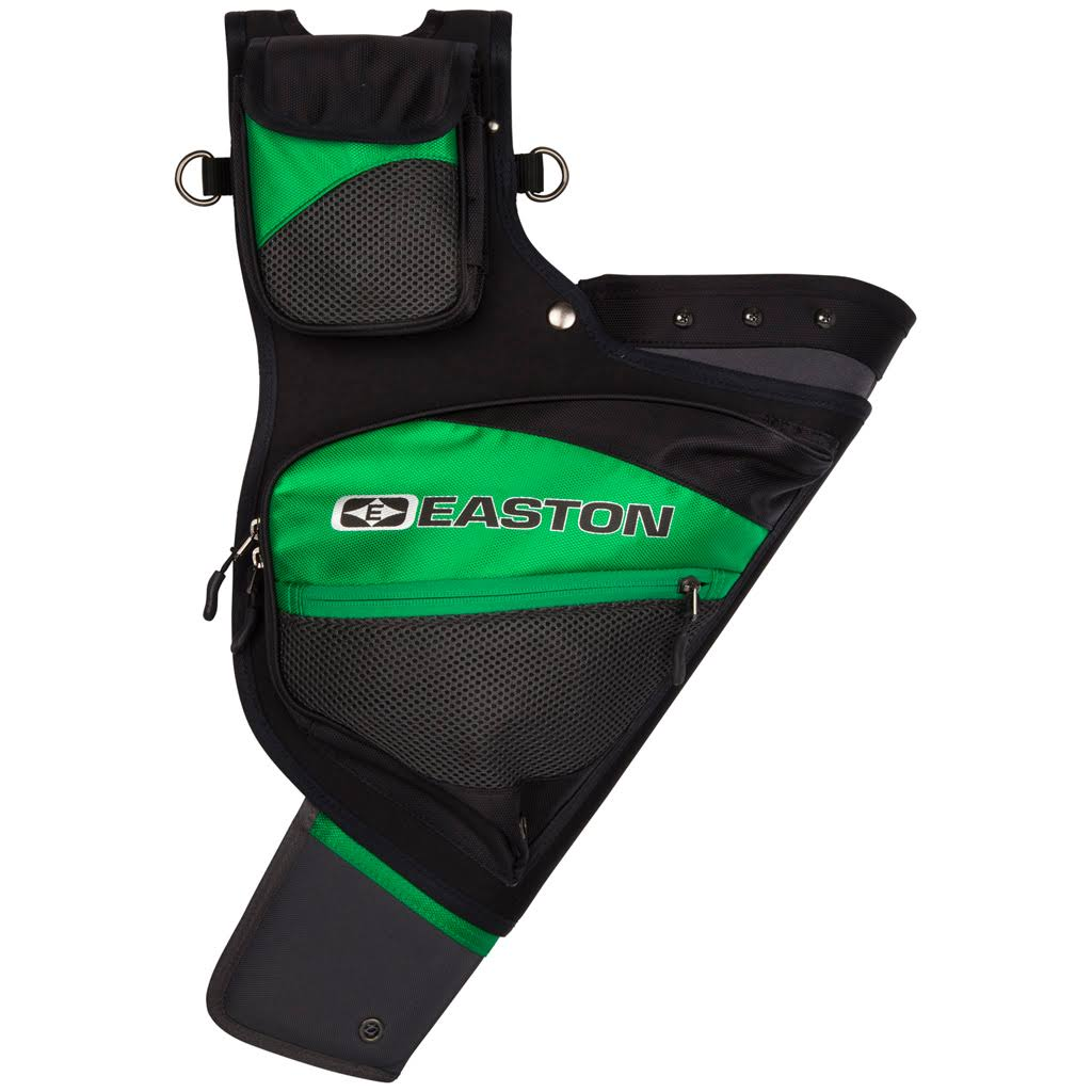 Easton Deluxe Hip Quiver - Right Hand, Green