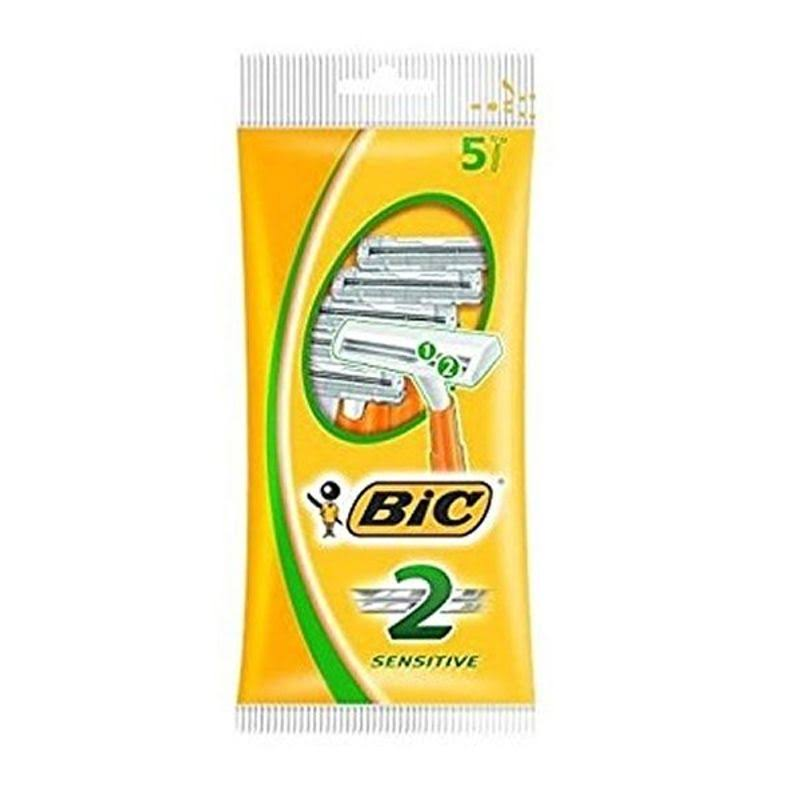 Bic 2 Sensitive Disposable Men's Razors - 5pk