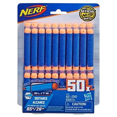 Nerf Official 50 Dart Elite Refill Pack