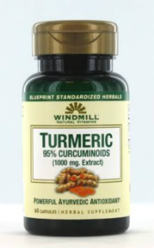 Windmill Turmeric Curcuminoids Supplement - 60 Capsules