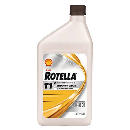 Shell Rotella T1 Engine Oil - Grade 30, 946ml