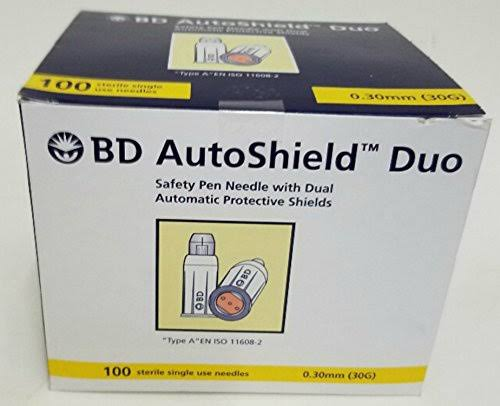 BD AutoShield Duo Pen Needles