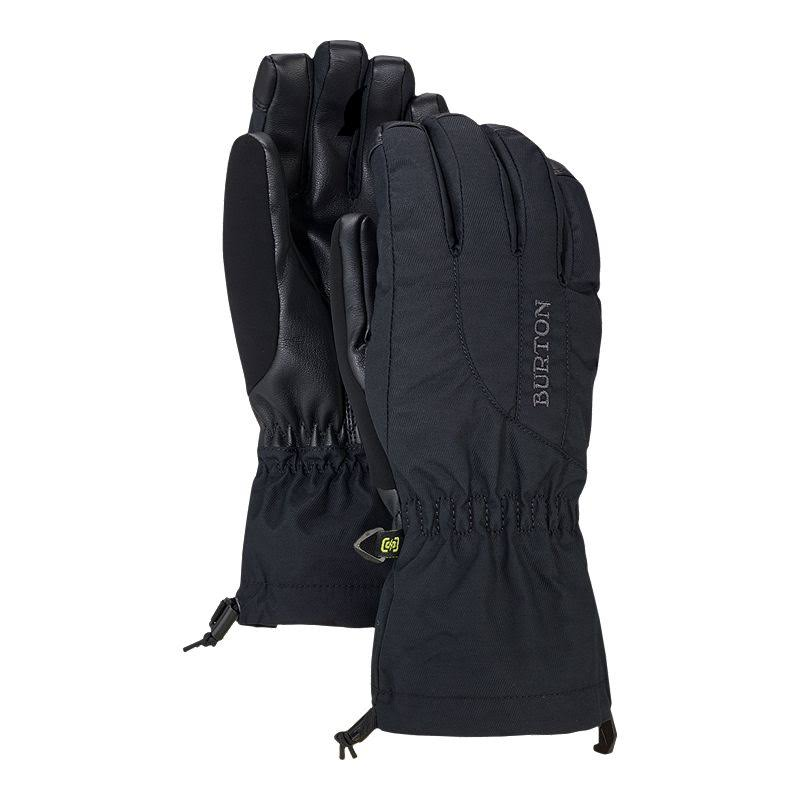 Burton Womens Profile Gloves - Black, Large