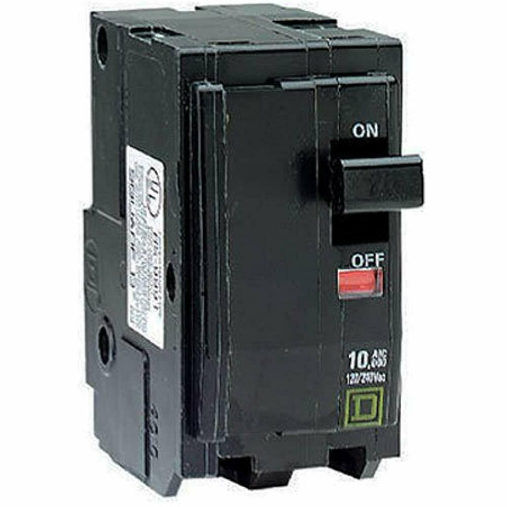 Square D by Schneider Electric QO Two-Pole Circuit Breaker - 60 Amp