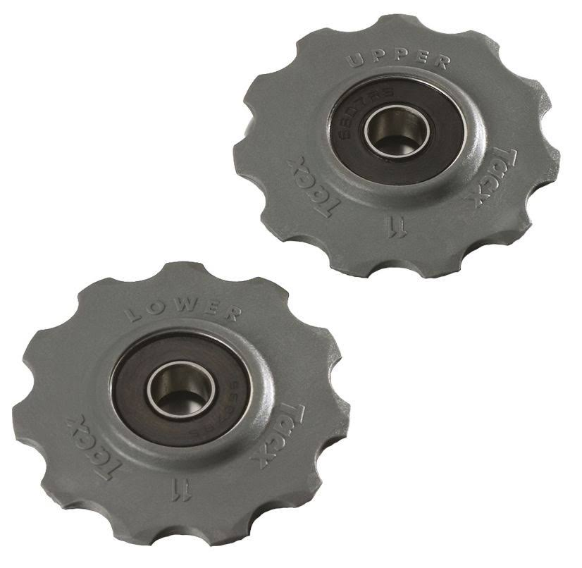 Tacx Shimano 9/10-Speed Stainless Derailleur Pulleys