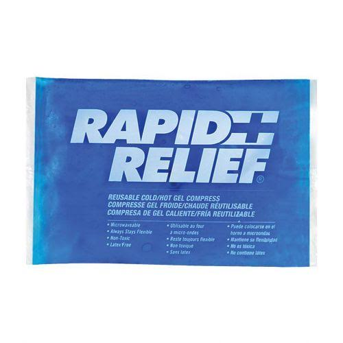 "Rapid Aid 12259-24 Hot Cold Pack - White, 5 1/4"" x 9"""