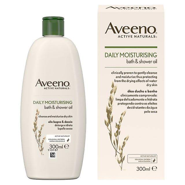 Aveeno Daily Moisturising Bath and Shower Oil 300 ml
