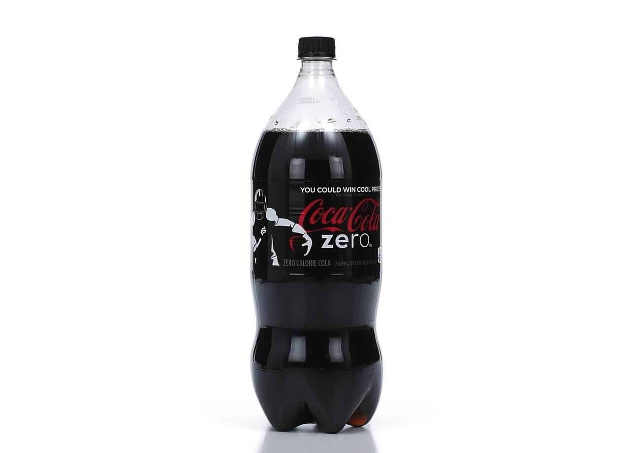 Coca-Cola Zero Soft Drink - 2l