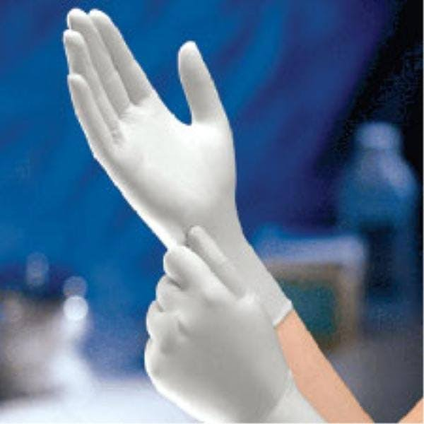 Dynarex Safe-Touch Powder-Free Latex Gloves - Medium, 100ct