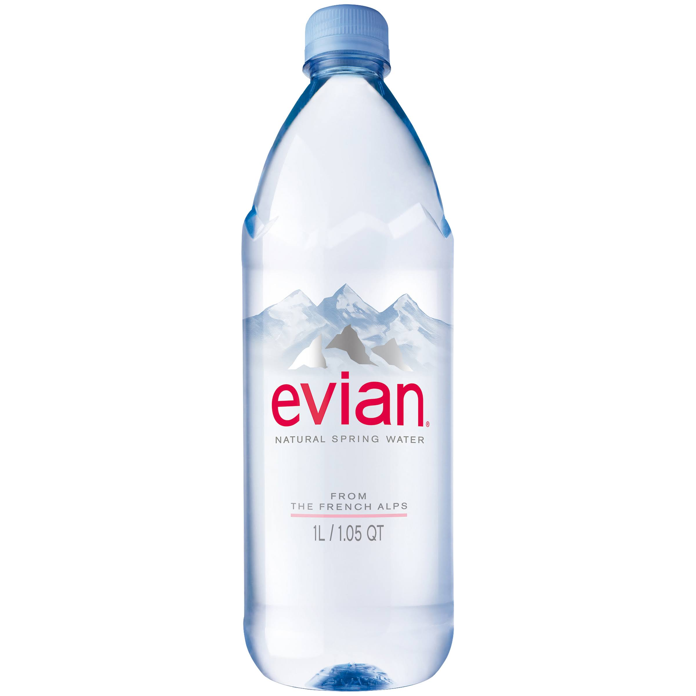 Evian Bottled Water - 1l