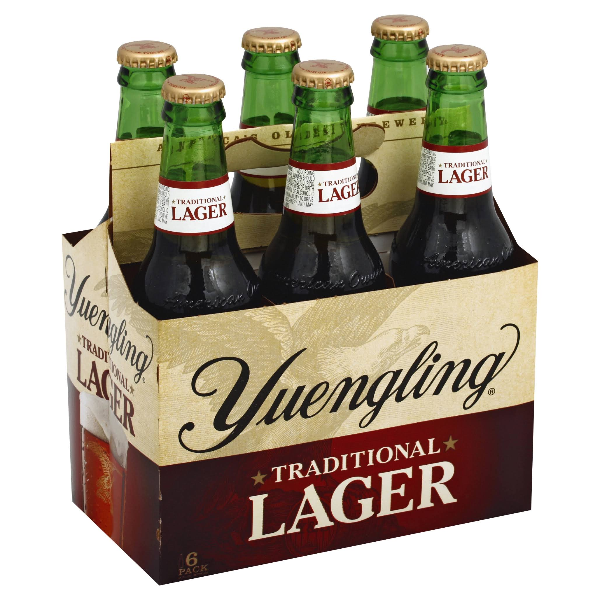 Yuengling Traditional Lager - 6 Pack