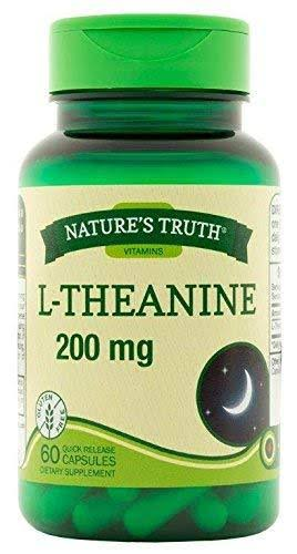 Nature's Truth Vitamins L-Theanine Dietary Supplement - 200mg, 60ct