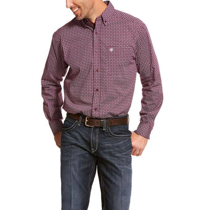 Ariat Men's Alistar Stretch Classic Fit Shirt Large