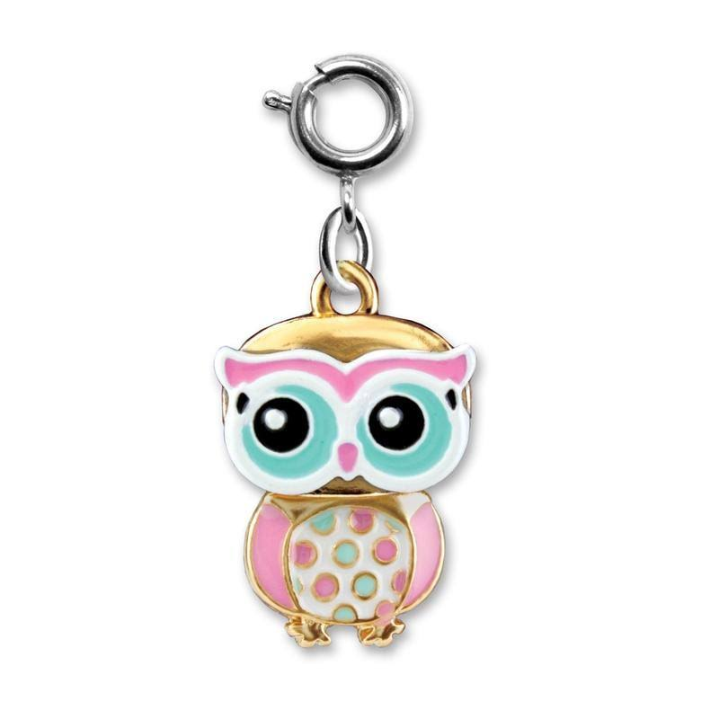 Charm It! Swivel Owl Charm