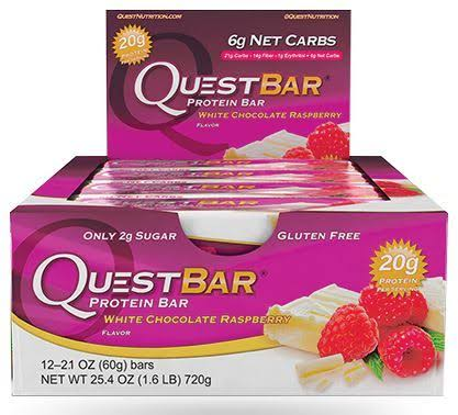 Quest Nutrition White Chocolate Raspberry