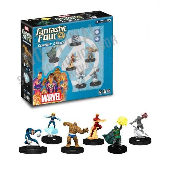 Wizkids Heroclix: Marvel Fantastic Four Cosmic Clash Starter Set