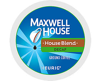 Maxwell House House Blend Decaf K-Cup