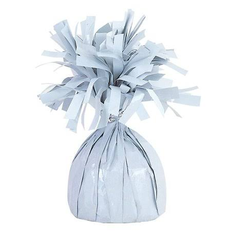 Mayflower 84392 175g Fringed Foil Weight Balloon - White
