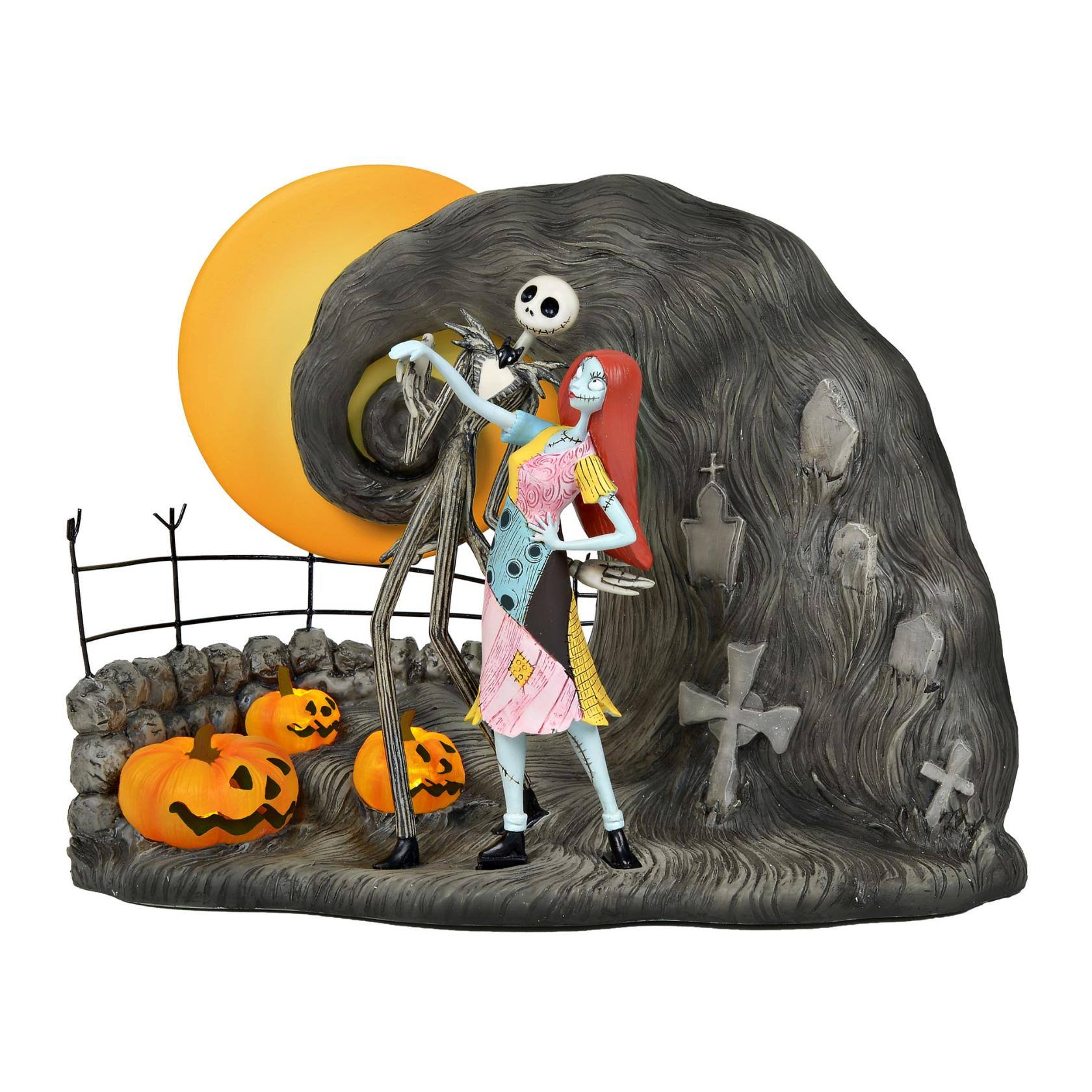 Disney Nightmare Before Christmas 6000410 Jack and Sally Figurine