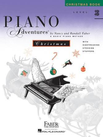 Piano Adventures Christmas Book: Level 3B - Nancy & Randall Faber