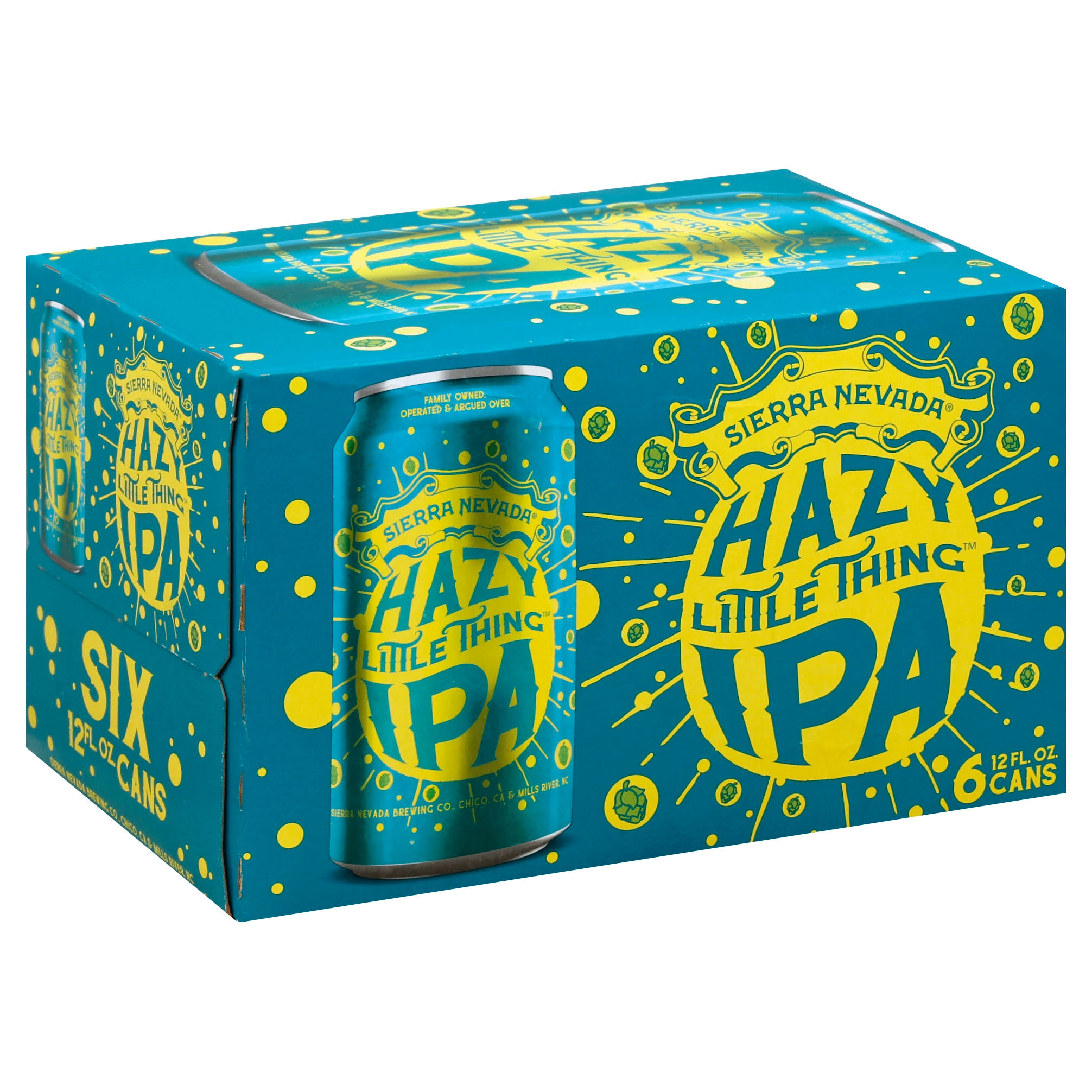 Sierra Nevada Beer, Hazy Little Thing IPA - 6 pack, 12 fl oz cans