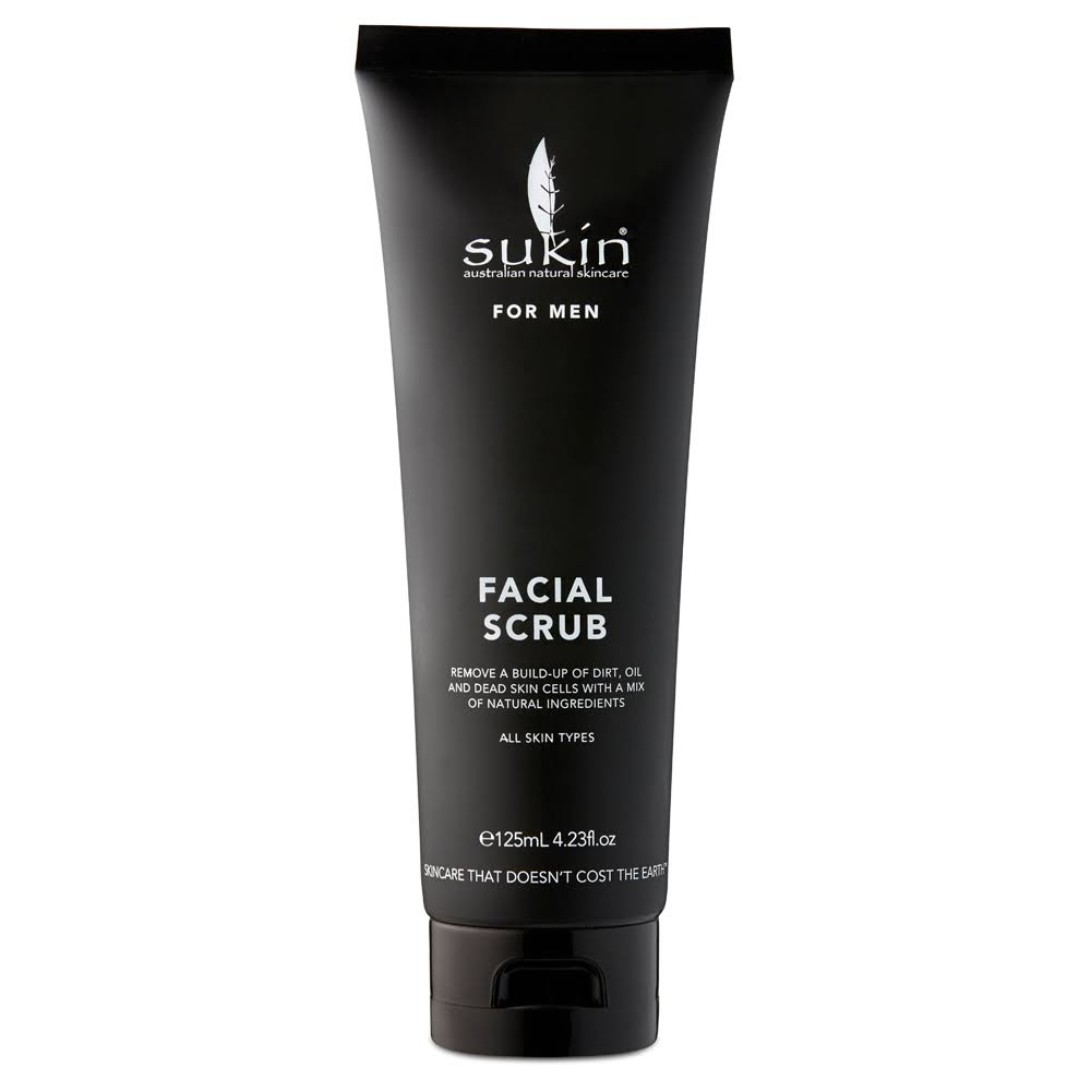Sukin Men's Facial Scrub - 125ml