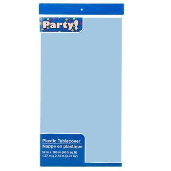 "Party Rectangle Plastic Tablecover - 54"" x 108"", 2pk"