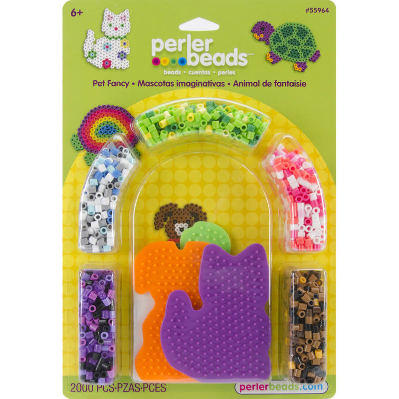 Perler 559-64 Perler Fun Fusion Fuse Bead Activity Kit