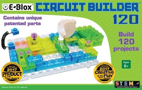 E-Blox Circuit Board Building Blocks - Circuit Blox 120