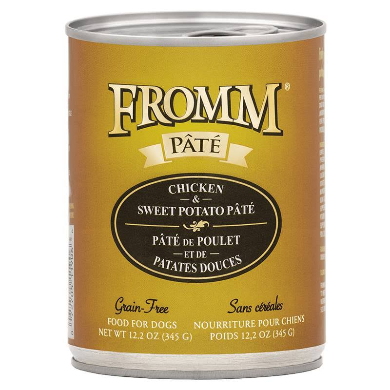 Fromm Chicken & Sweet Potato Pate Grain-Free Wet Canned Dog Food
