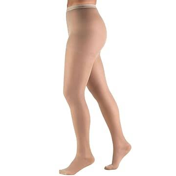 Truform Lites Women's 15-20 mmHg Pantyhose Tall / Nude