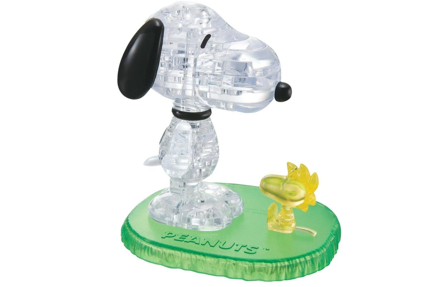 University Games Snoopy and Woodstock 3D Crystal Puzzle