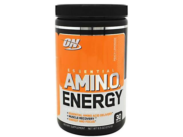 Optimum Nutrition Essential Amino Energy Supplement - Peach Lemonade, 30 Servings