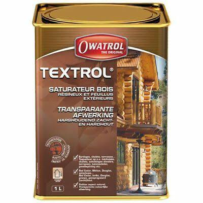 Owatrol Textrol Penetrating Oil Finish for Wood - 1l