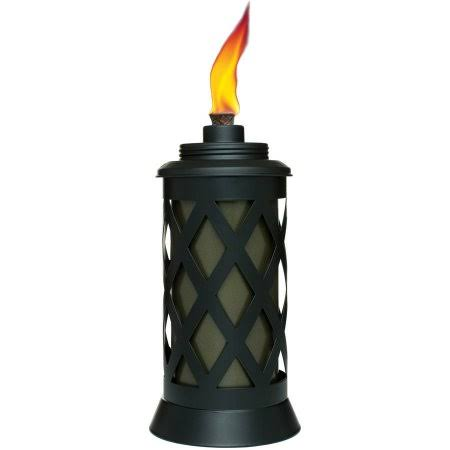 Tiki Brand Urban Metal Table Torch - Metal Black, 9""