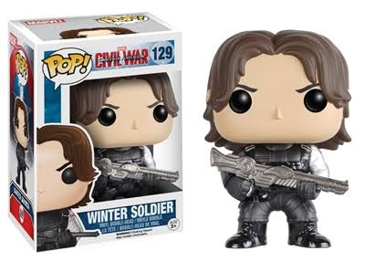 Funko Pop Marvel Civil Wars Vinyl Figure Toy - Captain America