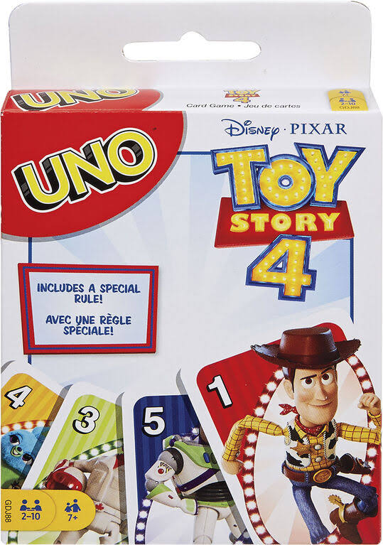 Uno Card Game, Toy Story 4