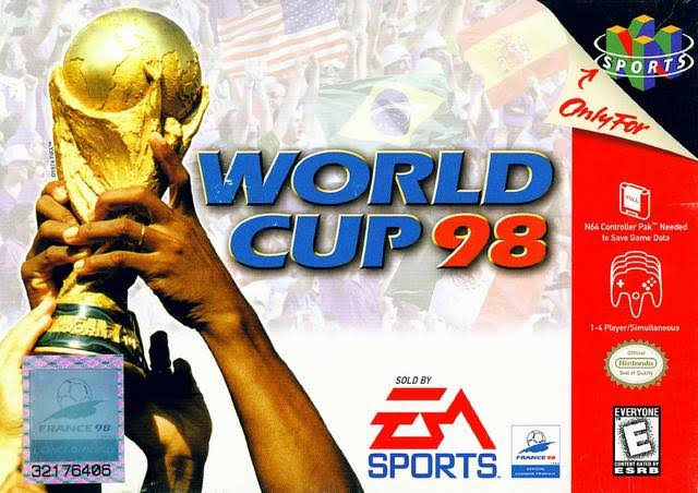 World Cup 98 [Nintendo 64 Game]