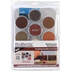 Panpastel Weathering Kit - Rust & Earth, x7