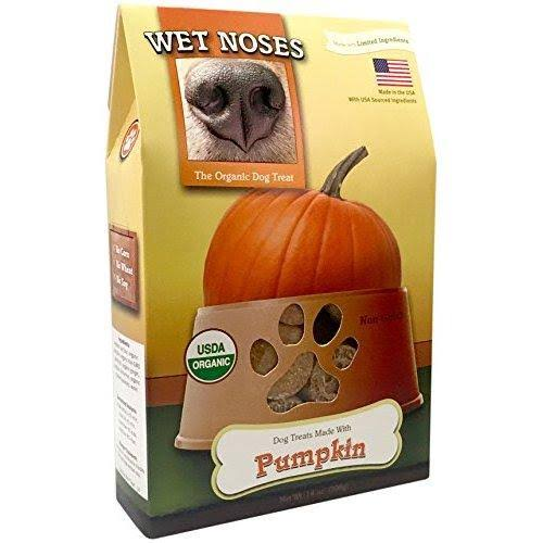 Wet Noses Organic Pumpkin Dog Treats - 14oz