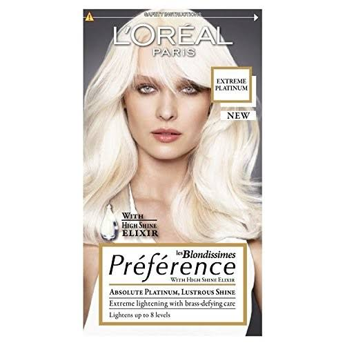 L'oreal Preference Blonde Permanent Hair Dye - Extreme Platinum