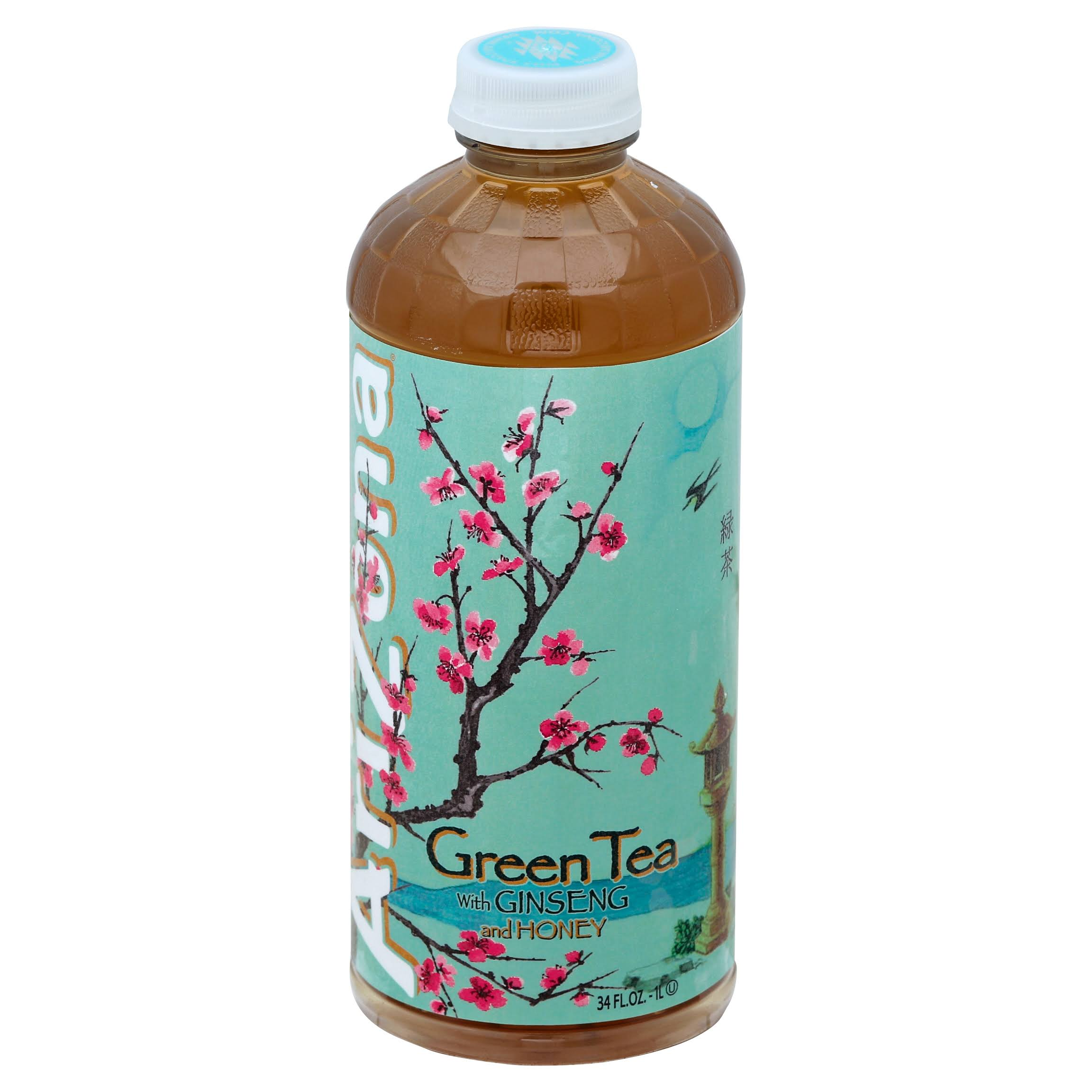 Arizona Green Tea, with Ginseng and Honey - 34 fl oz