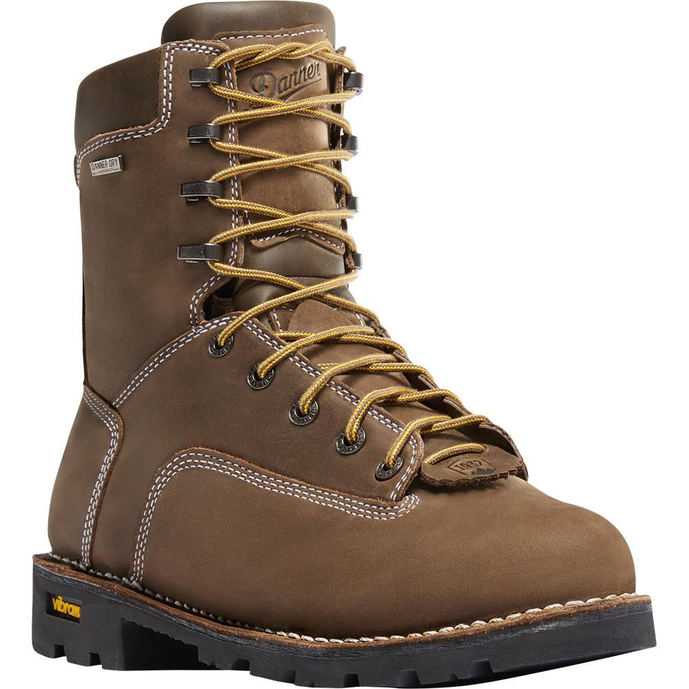 "Danner Men's Gritstone 8"" Brown Work Boot"