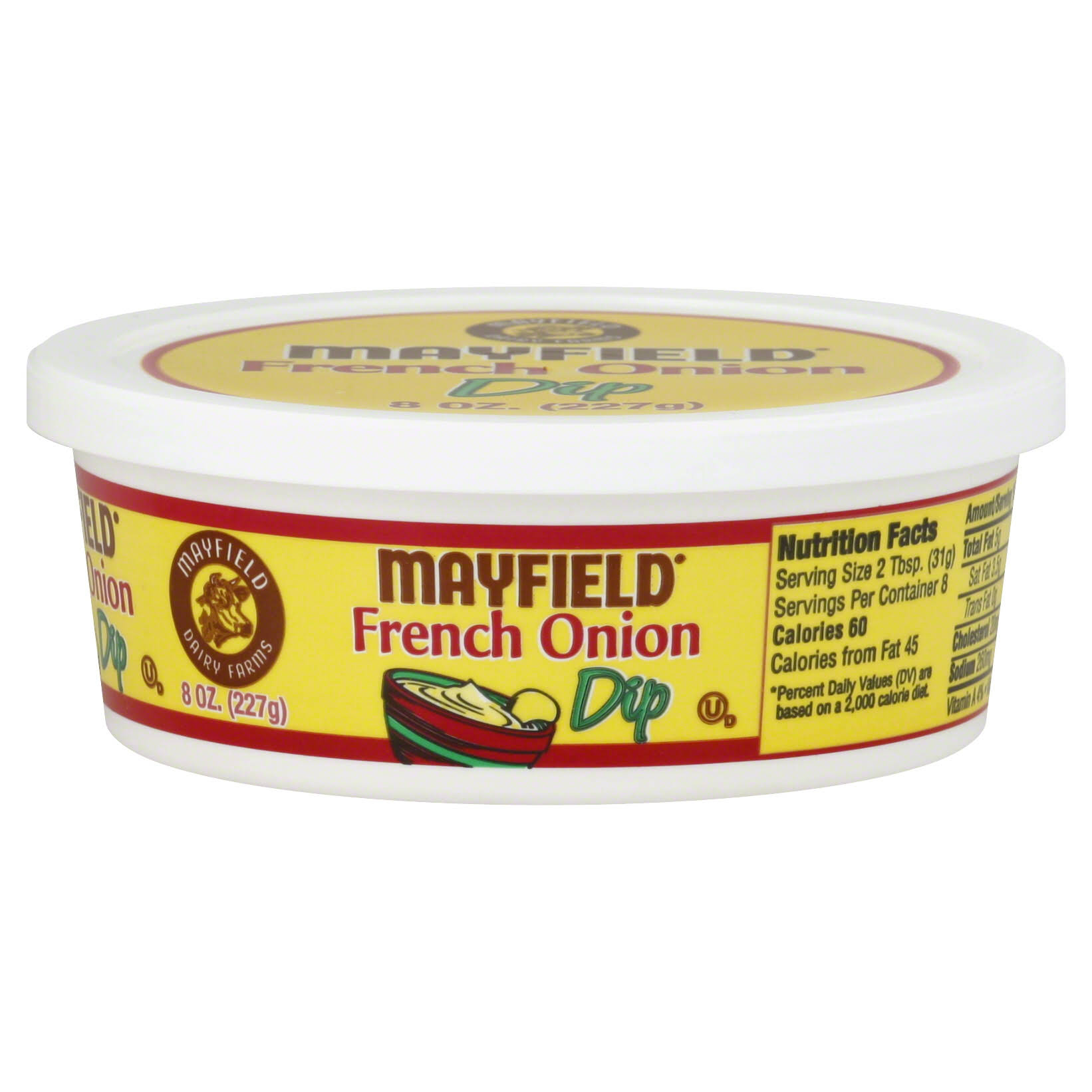 Mayfield Dip, French Onion - 8 oz