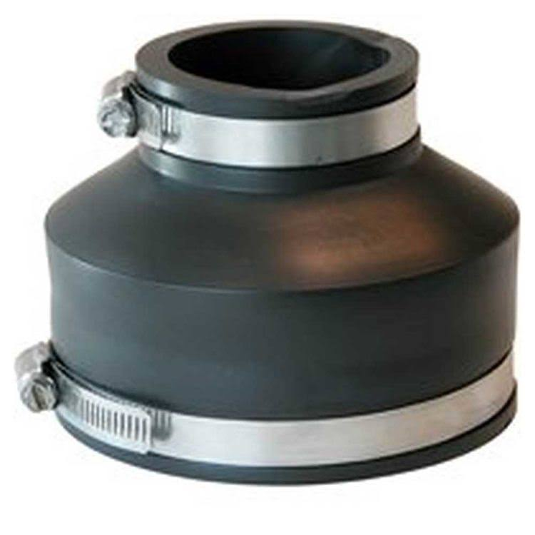Fernco Reducing Flexible Coupling - 4x2''